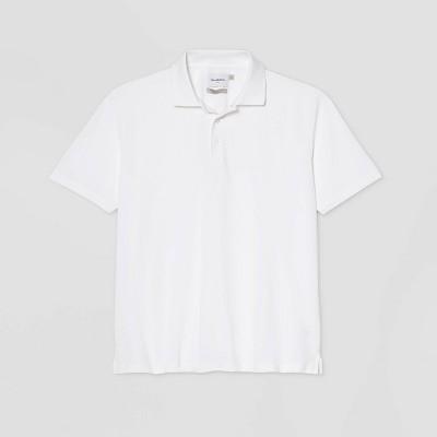 Men's Big & Tall Regular Fit Short Sleeve Collared Crewneck T-Shirt - Goodfellow & Co™