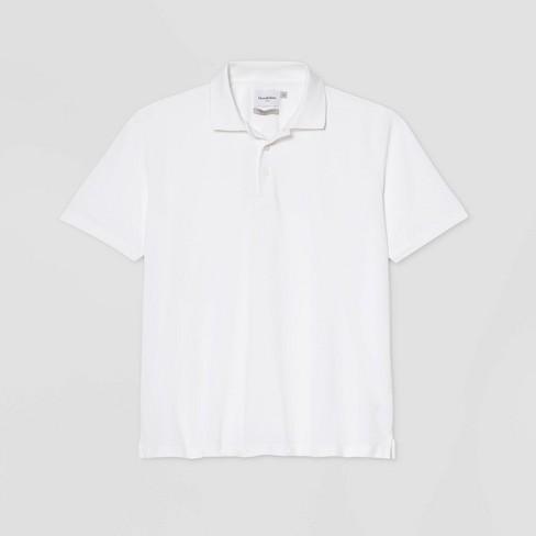 Men's Big & Tall Regular Fit Short Sleeve Collared Crewneck T-Shirt - Goodfellow & Co™ - image 1 of 1