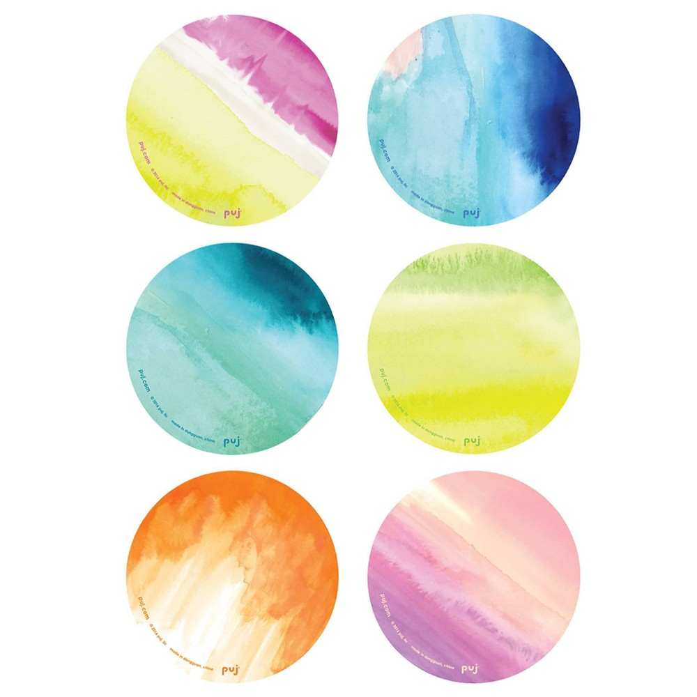 Image of PUJ Baby Bath Cling Bath Treads - Watercolor