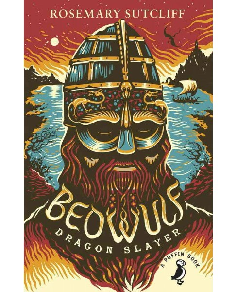 Beowulf, Dragon Slayer (Reissue) (Paperback) (Rosemary Sutcliff) - image 1 of 1