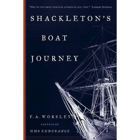 Shackleton's Boat Journey - by  Frank Arthur Worsley (Paperback) - image 1 of 1
