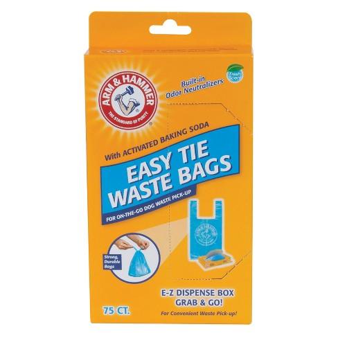 1ac300025002 Arm & Hammer Tie Waste Bag 75ct