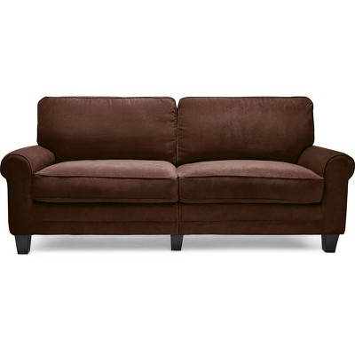 "78"" RTA Copenhagen Collection Sofa Rye Brown - Serta"