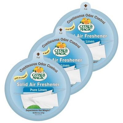 Citrus Magic Solid Pure Linen Scent Air Freshener
