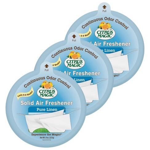 Citrus Magic Solid Pure Linen Scent Air Freshener - image 1 of 3