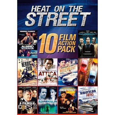 10-Film Heat on the Street (DVD) - image 1 of 1