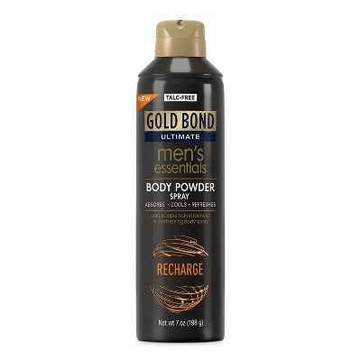 Gold Bond Recharge Men's Body Powder Spray - 7oz