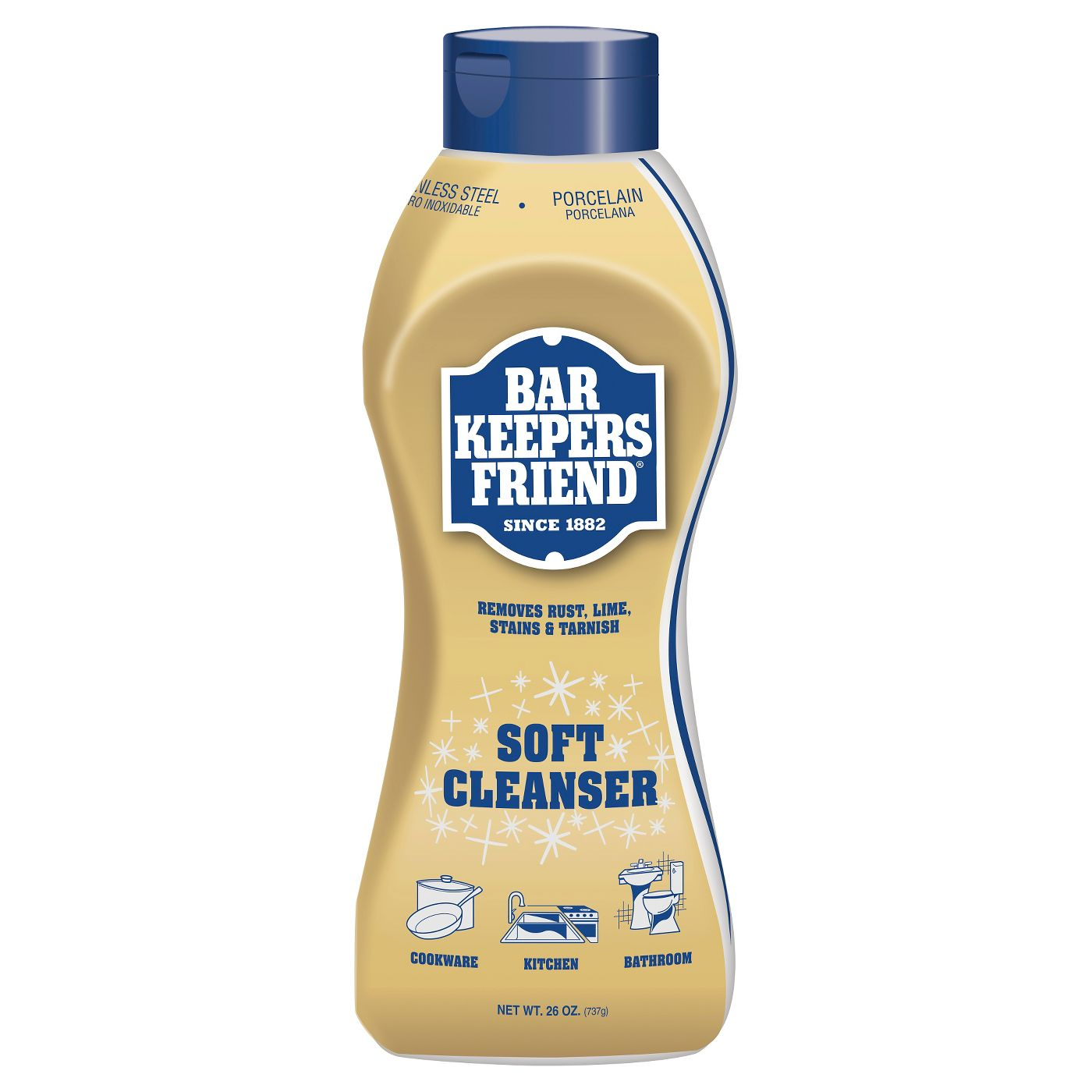 Bar Keepers Friend Liquid Cleanser 26 oz