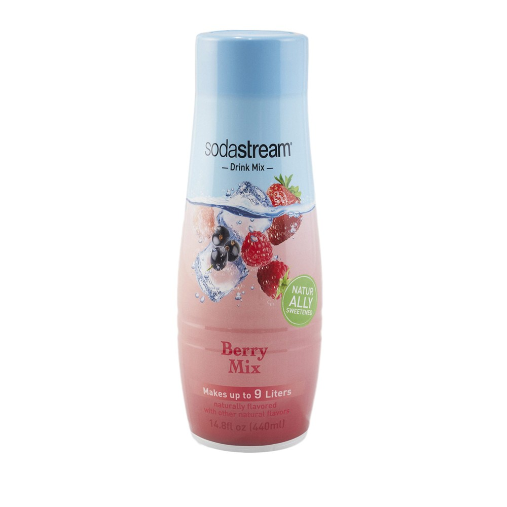 Image of SodaStream Berry Mix Flavor Mix (440ml)