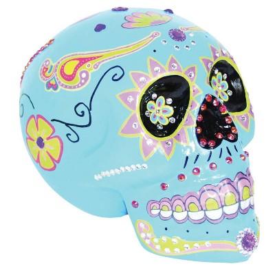 Da de Muertos Blue Sugar Skull