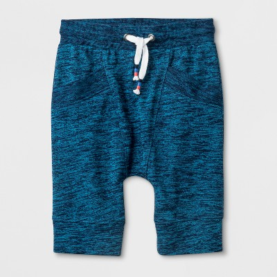 Toddler Boys' Slouchy Fit French Terry Shorts - Cat & Jack™ Navy 12M