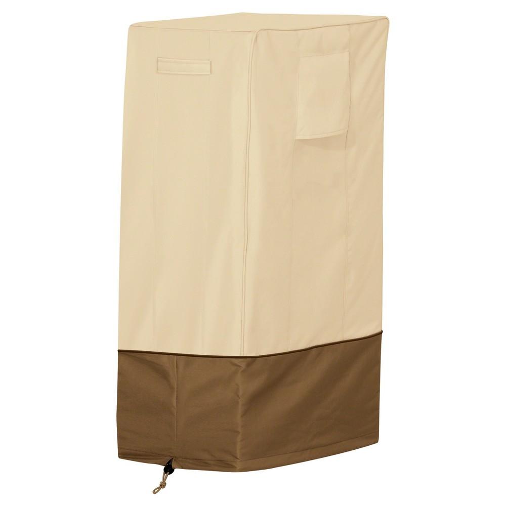 Veranda Smoker Cover - Pebble - Classic Accessories, Light Pebble