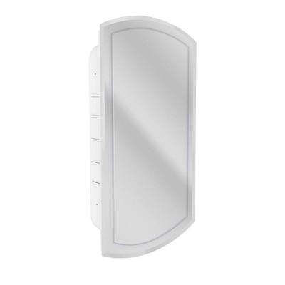 "16.5"" x 30"" Recessed VGroove Medicine Cabinet Mirror - Head West"