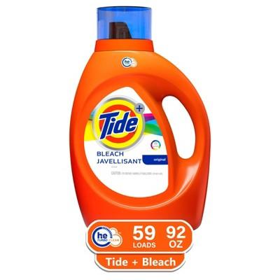 Tide Original Plus Bleach Alternative High Efficiency Liquid Laundry Detergent - 92 fl oz