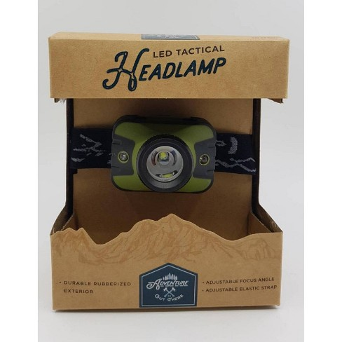 Adventure is Out There LED Headlamp - Dark Green - image 1 of 4