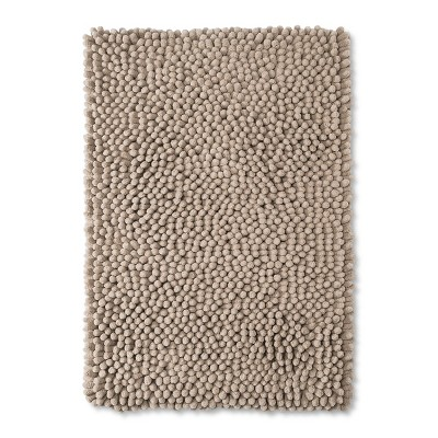 24  x 17  Chunky Chenille Memory Foam Light Taupe - Room Essentials™