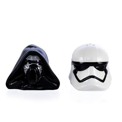 Seven20 Star Wars Kylo Ren & Stormtrooper Ceramic Salt & Pepper Shaker Set