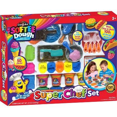 Cra-Z-Art Softee Dough Super Chef Set