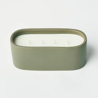 32oz Ceramic Jar 4-Wick Bergamot and Peppercorn Candle - Threshold™ designed with Studio McGee