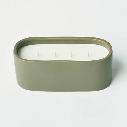 32oz Ceramic Jar 4-Wick Bergamot and Peppercorn Candle - Threshold™ designed with Studio McGee - image 1 of 4