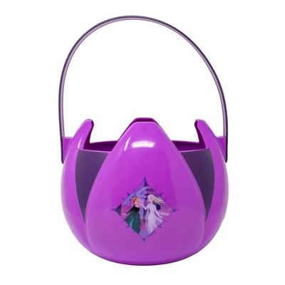 Frozen Character Plastic Pail Halloween Trick or Treat Containers