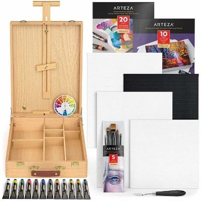 Arteza Large Acrylic Art Set, Artist Painting Kit (ARTZ-3863)