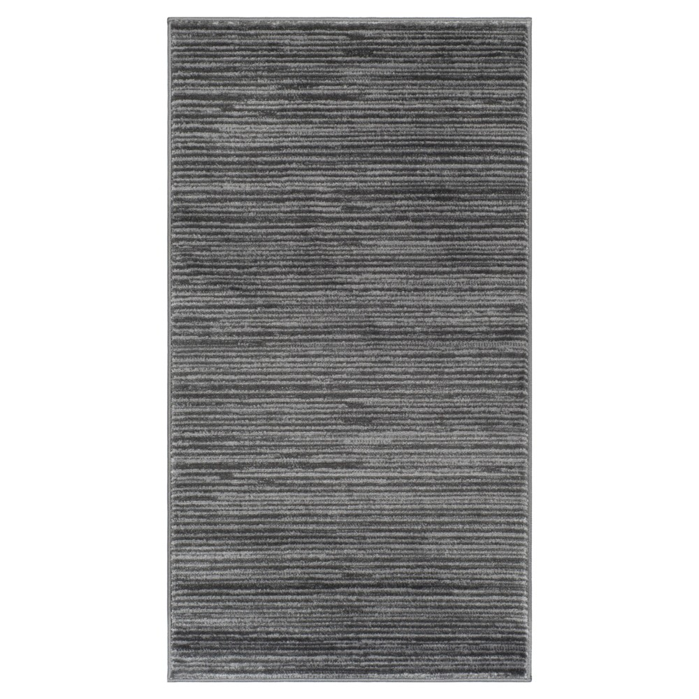 2'2X4' Loomed Accent Rug Gray Solid - Safavieh