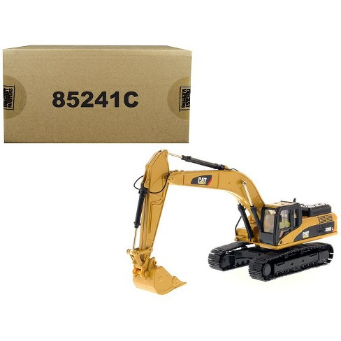 """CAT Caterpillar 336D L Hydraulic Excavator with Operator """"Core Classics Series"""" 1/50 Diecast Model by Diecast Masters - image 1 of 4"""