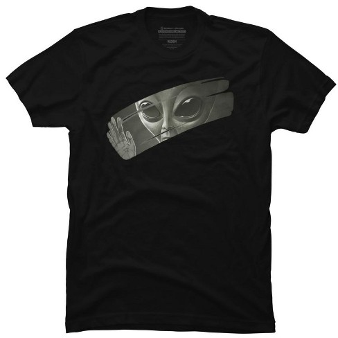Alien Mens Graphic T-Shirt - Design By Humans - image 1 of 2