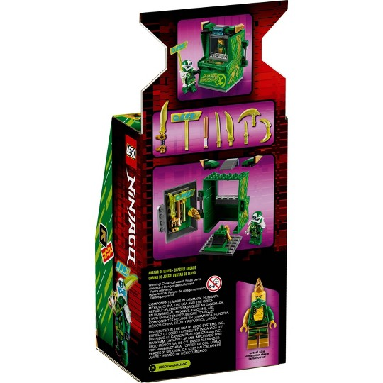 LEGO NINJAGO Lloyd Avatar - Arcade Pod 71716 Mini Arcade Machine Building Set image number null