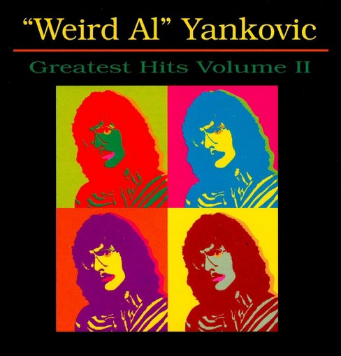 Weird al yankovic - Greatest hits vol 2 (CD) - image 1 of 1