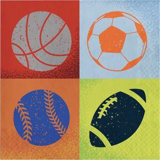20ct Sports Lunch Napkin - Spritz™
