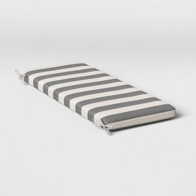 Cabana Stripe Outdoor Bench Cushion DuraSeason Fabric™ - Threshold™