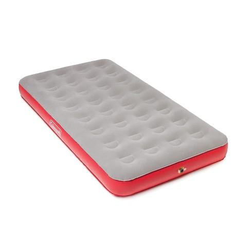 coleman single air mattress Coleman® QuickBed® Air Mattress Single High Twin with Pump   Grey  coleman single air mattress