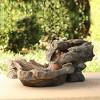 """9"""" Fiberglass Outdoor Fountain Alpine Corporation - image 2 of 4"""