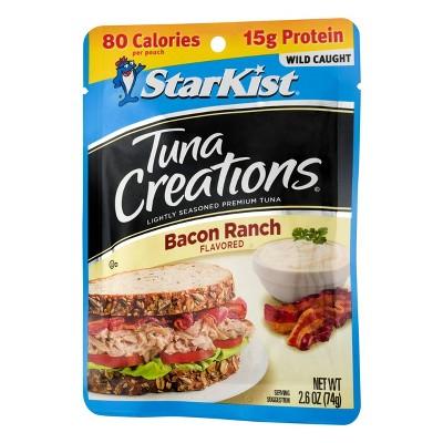 StarKist Tuna Creations Bacon Ranch Pouch - 2.6oz