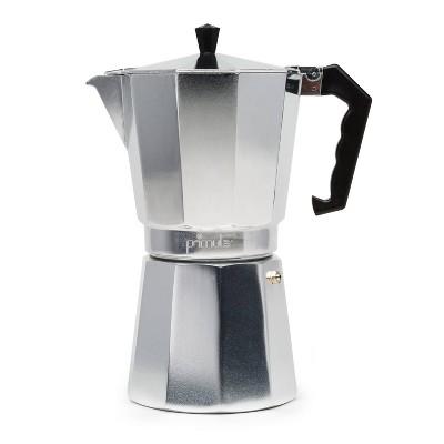 Primula 9-Cup Espresso Maker - Silver