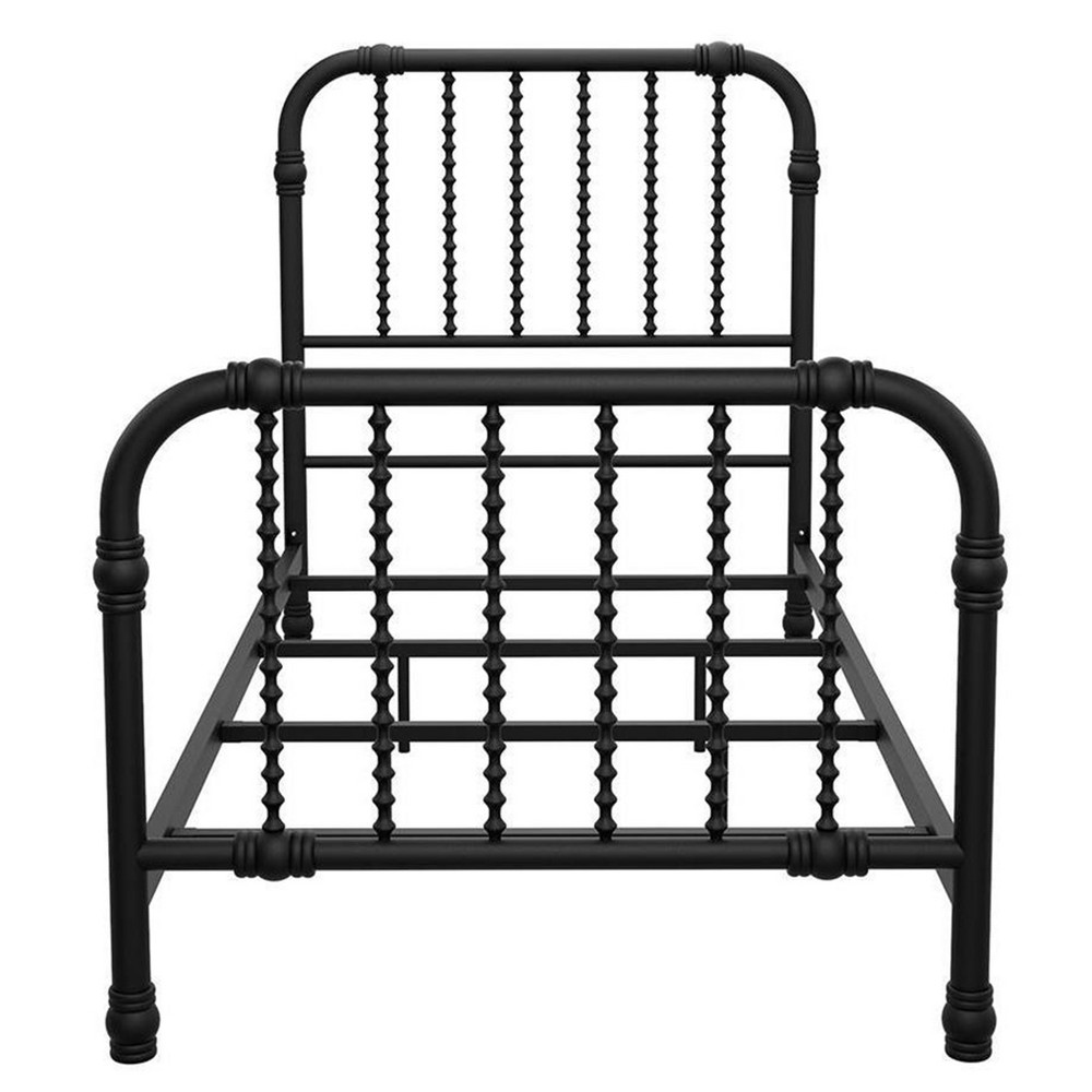 Image of Bed Frame Full Black - Little Seeds