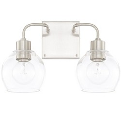 "Capital Lighting 120021-426 Tanner 2 Light 15"" Wide Bathroom Vanity Light"