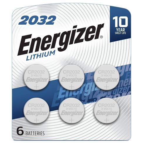 Energizer 6pk 2032 Batteries Lithium Coin Battery Target