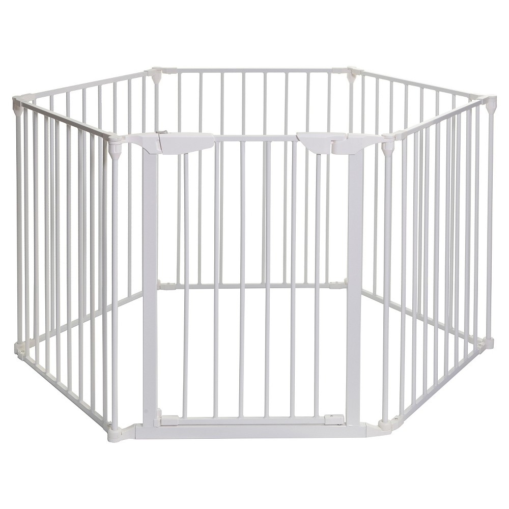 Dreambaby Mayfair Converta 3-in-1 Play-Pen & Wide Barrier Gate - White