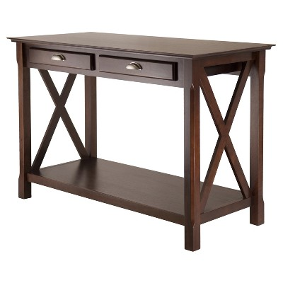 Xola Console Table with 2 Drawers - Cappuccino - Winsome