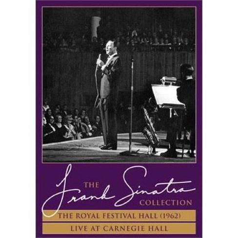 Frank Sinatra: Royal Fest Hall 1962 / Live Carnegie Hall (DVD) - image 1 of 1