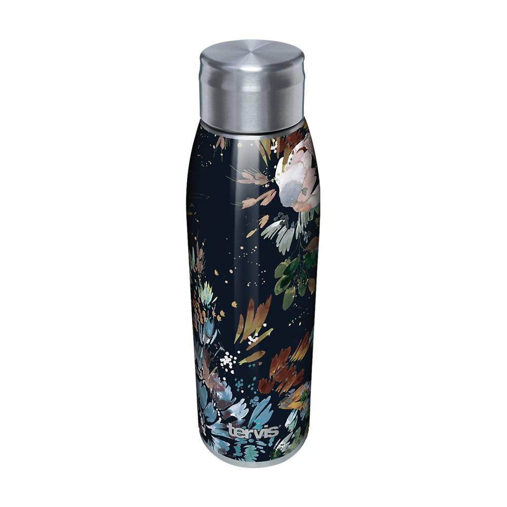 Compare Tervis 17oz Stainless Steel Water Bottle - Kelly Ventura Midnight Garden