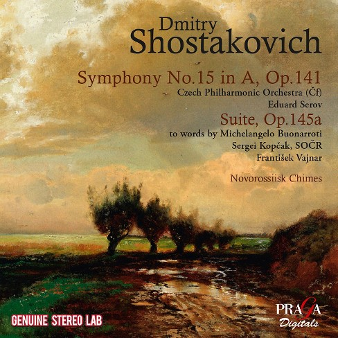 Czech philharmonic o - Shostakovich:Sym no 15 suite on verse (CD) - image 1 of 1