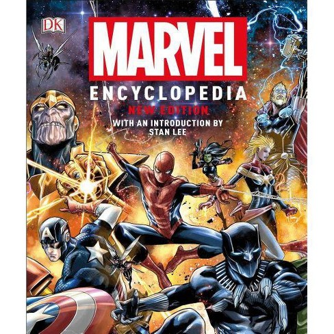 Marvel Encyclopedia, New Edition - by  Stan Lee (Hardcover) - image 1 of 1