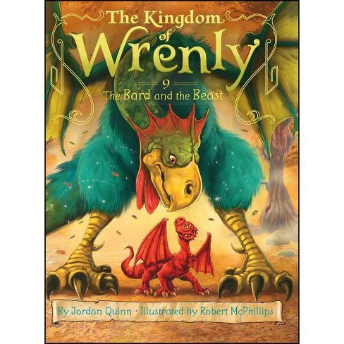 The Bard and the Beast - (Kingdom of Wrenly) by  Jordan Quinn (Hardcover) - image 1 of 1