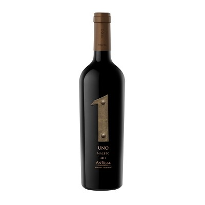 Antigal Uno Malbec Red Wine - 750ml Bottle