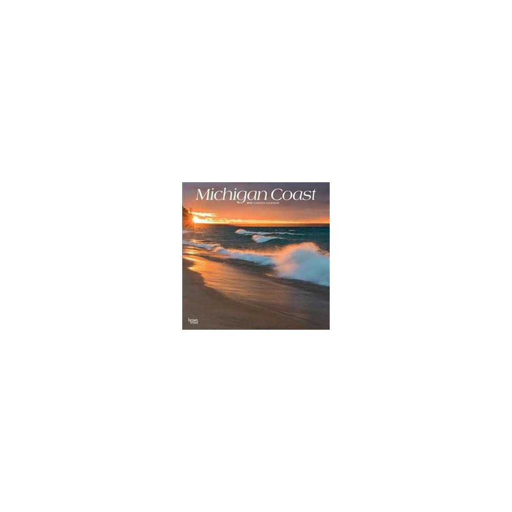 Michigan Coast 2019 Calendar - (Paperback)