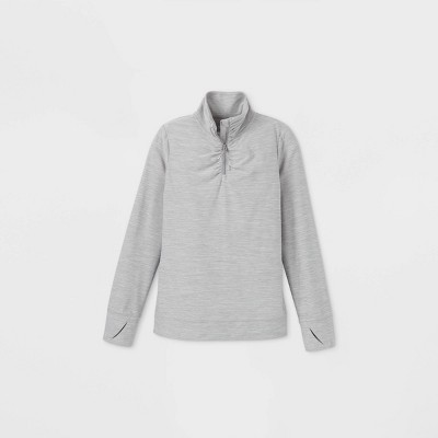 Girls' Soft 1/4 Zip Pullover - All in Motion™